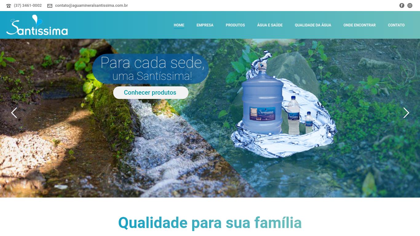 Site Santíssima